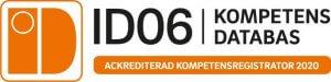 Ackrediterad kompetensregistrator ID06 2020 | Eldupphör