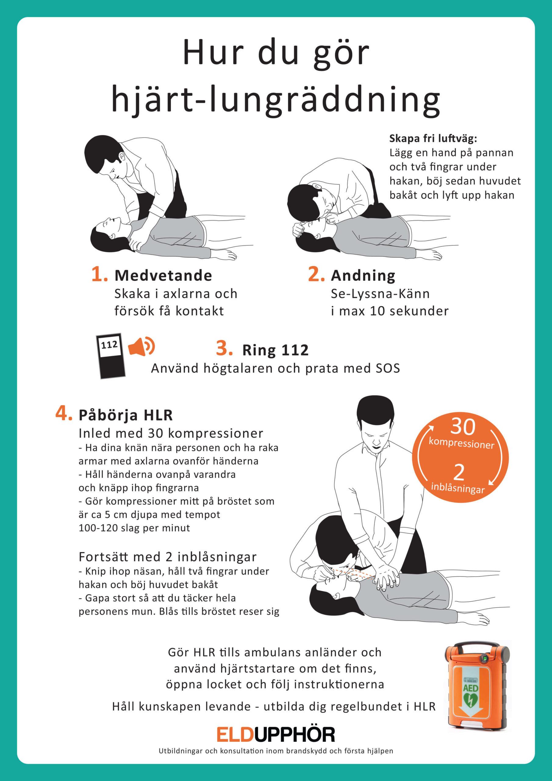 Hur du gör hjärt-lungräddning | Eldupphör
