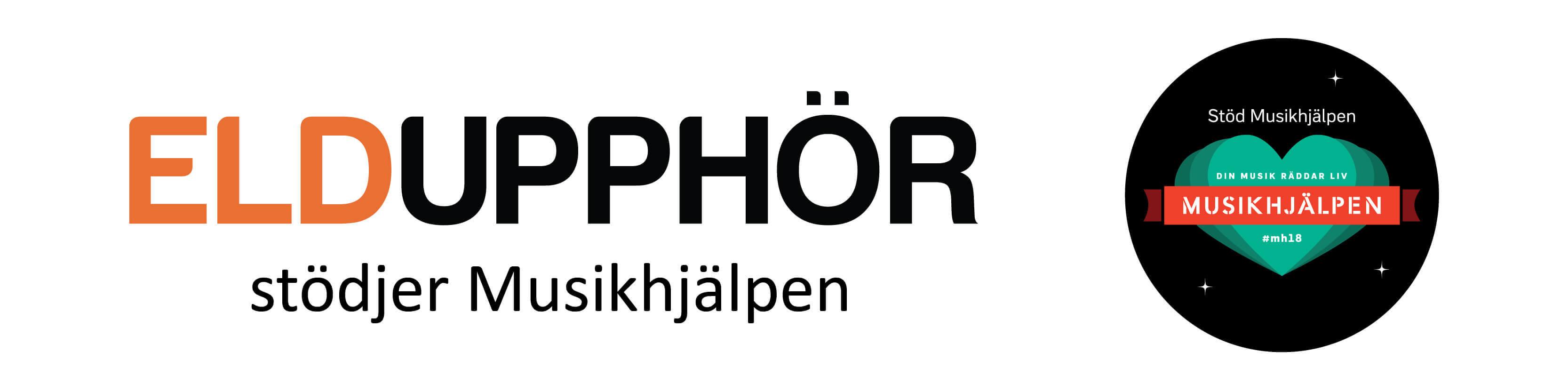 Eldupphör Musikhjälpen 2018