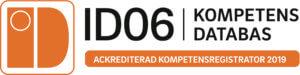Ackrediterad kompetensregistrator ID06 2019 | Eldupphör