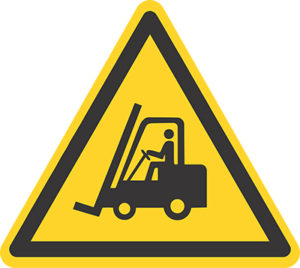 Truckförare skylt | Eldupphör